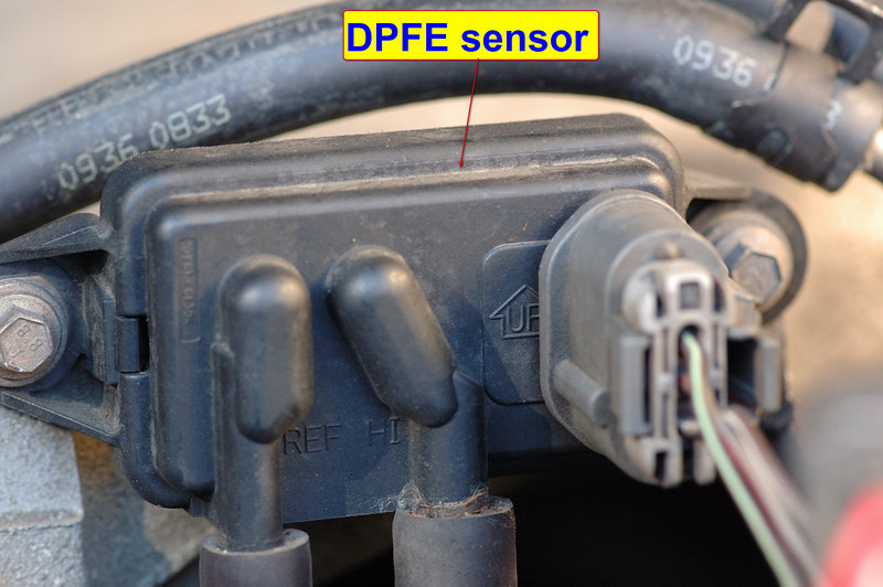 dpfe plug wiring for 98 explorer 5 0 ford truck enthusiasts forums rh ford trucks com 1998 Ford Ranger Problems 94 Ford Ranger DPFE Sensor