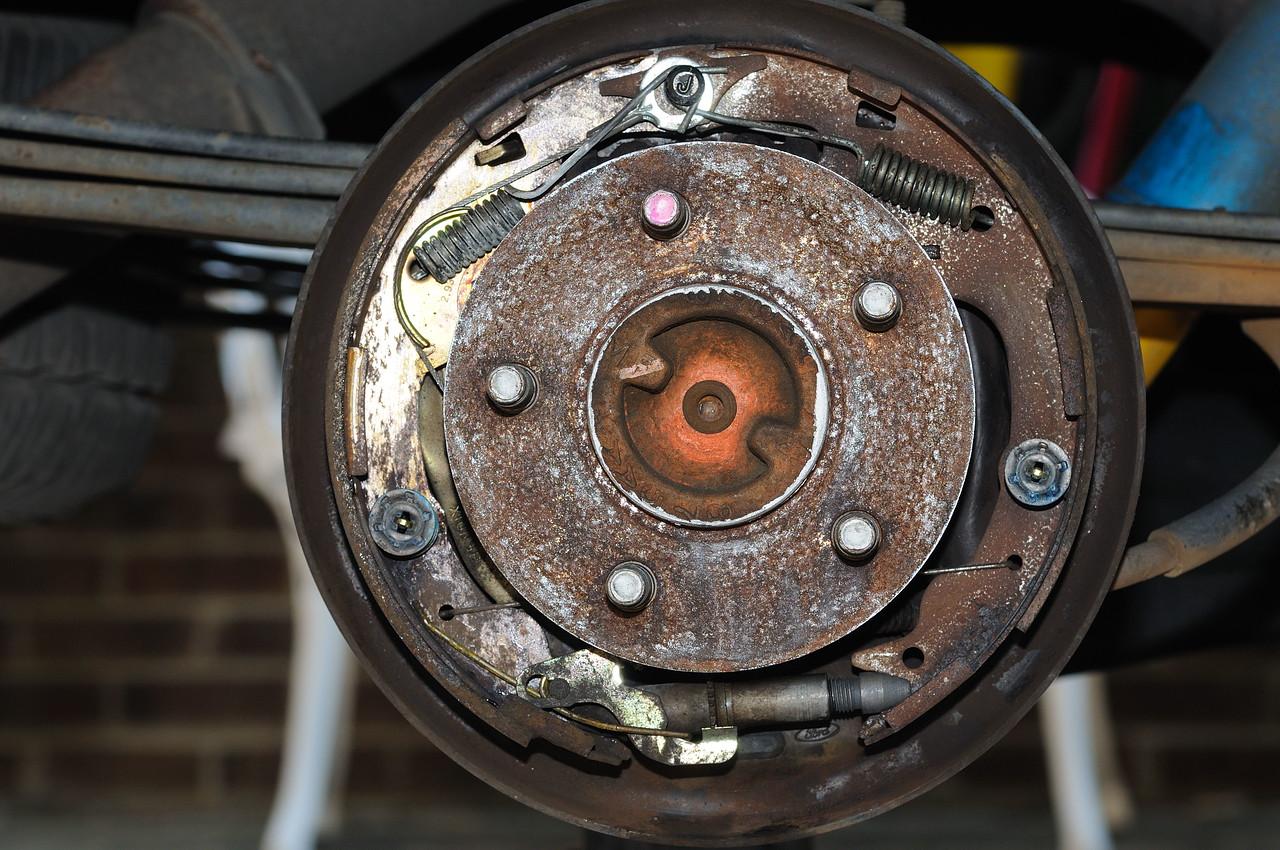 1999 Ford Ranger Rear Brakes Diagram